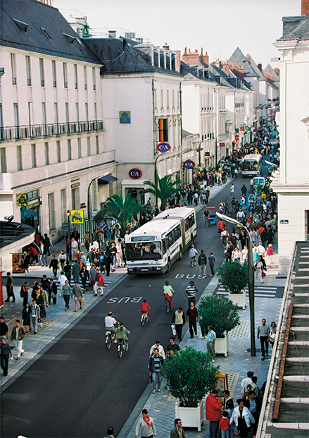 rue nationale en 1999
