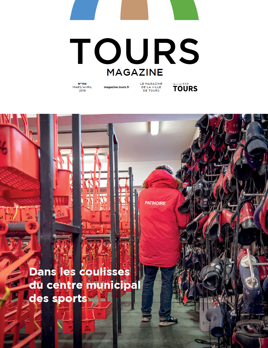 Tours magazine mars avril 2019 - couv gde