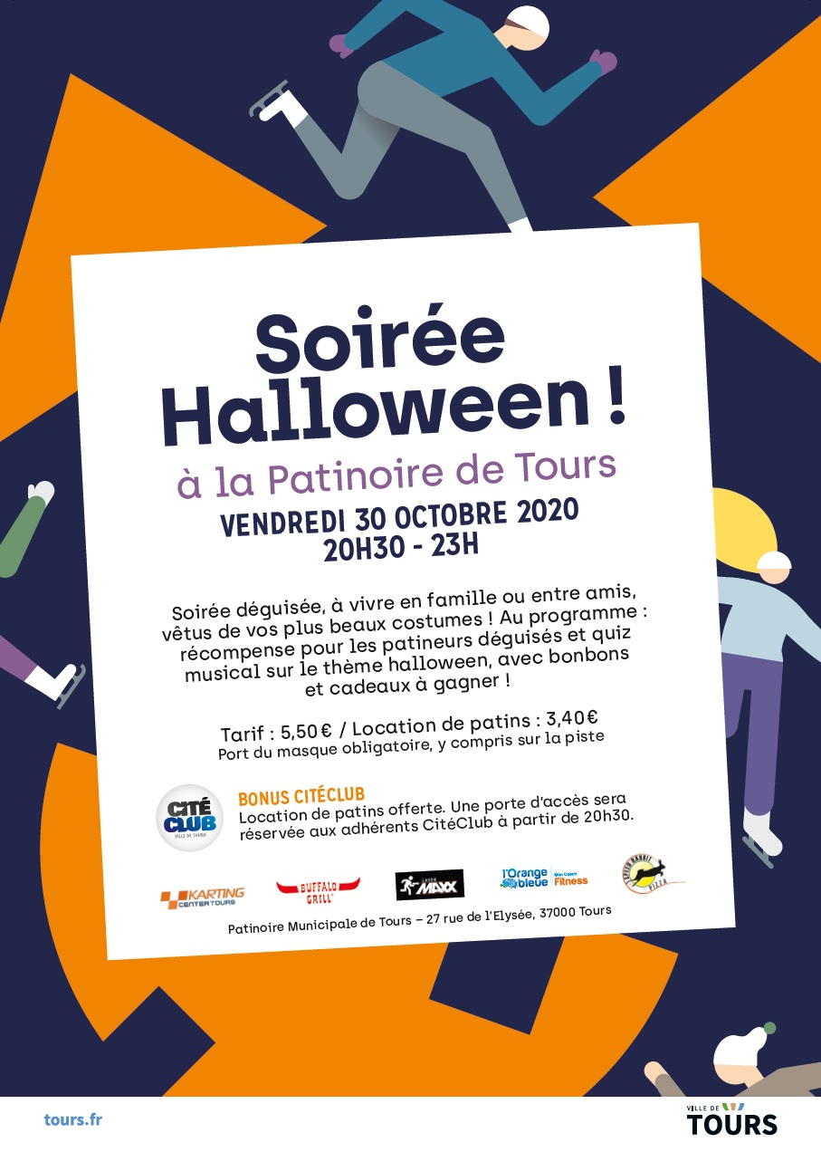 soiree halloween patinoire